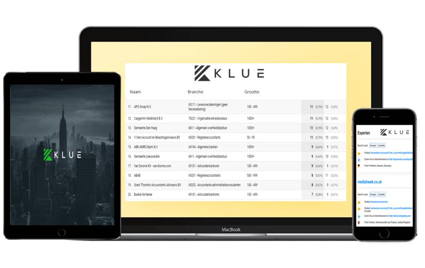 Homepage Klue