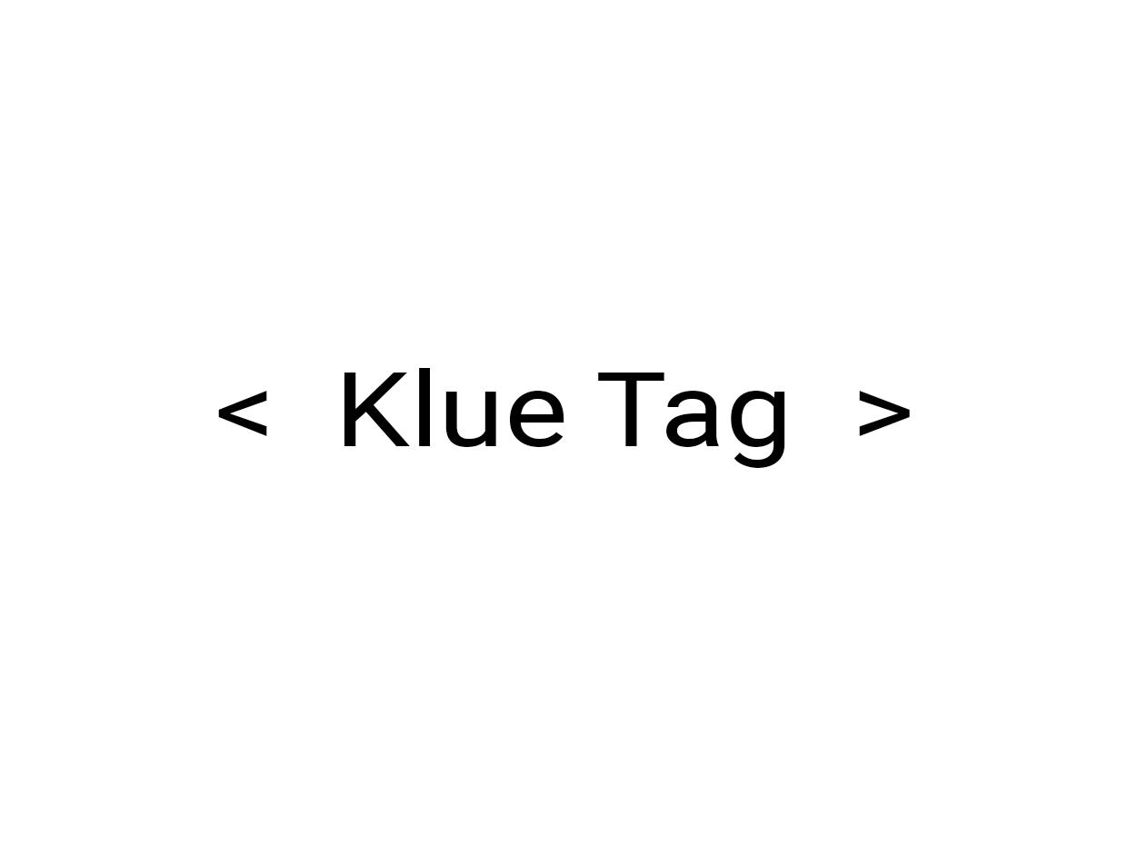 Klue Tag