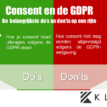 GDPR en consent, de do's en don'ts [Infographic]