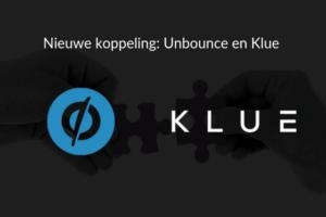 Personaliseer je Unbounce pop-ups en landingspagina's door koppeling met Klue